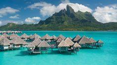 St Regis Resort Bora Bora em Bora-Bora Polinésia Francesa | Splendia - http://pinterest.com/splendia/