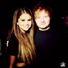 #Selena #edsheeran