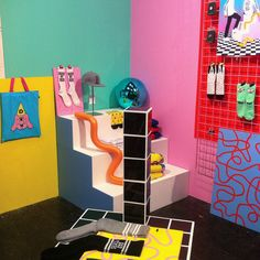 pick me up london - lazy oaf - visual merchandising - exhibition stand design Clothing Store Interior, Interior Design Presentation, Exhibition Stand Design, Merchandising Displays, Booth Design, Art Festival, Simple Art, Home Decor Inspiration, Material