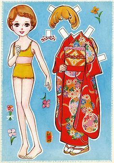 That's All You Do tumblr blog.  Link includes two more pages of clothes for this Japanese paper doll.