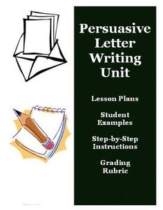 Persuasive Writing Unit Lesson Plans with Teacher Examples. This is an excellent resource to help teach the Common Core Standards for writing for persuasive essays! $