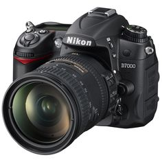 Shop Nikon DSLR Camera with VR Lens Black at Best Buy. Find low everyday prices and buy online for delivery or in-store pick-up. Best Nikon Camera, Latest Camera, Best Digital Camera, Camera Gear, Digital Slr, Nikon D7000, Dslr Nikon, Nikon Cameras, Photoshop Elements