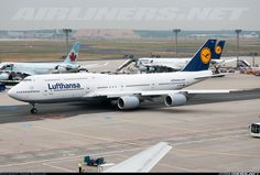 Though my favorite aircraft of all times is B777 - this Lufthansa Boeing 747-830 looks stunning