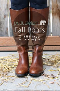 What's your favorite way to style your favorite boots for Fall? Here are 2 foolproof ways to add boots into your wardrobe once the weather is right! @johnsonandmurphy #johnsonandmurphy #fall #fallstyle #fallfashion #boots