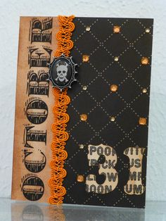 Halloween card - Scrapbook.com