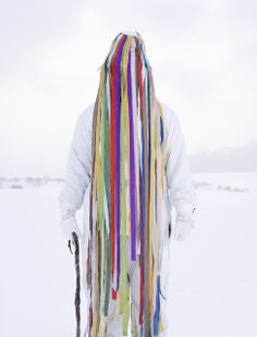 Laufr (Jumper), Trebic, Czech Republic, 2010-2011 © Charles Fréger, Courtesy Yossi Milo Gallery, New York