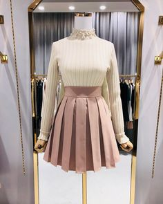 Girly Outfits, Classy Outfits, Pretty Outfits, Casual Outfits, Cute Outfits, 70s Fashion, Cute Fashion, Fashion Dresses, Vintage Fashion