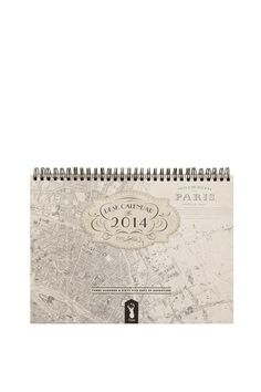 2014 desk calendar PARIS