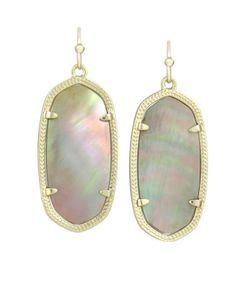 My favorite pair of earrings. Elle Earrings in Brown Pearl - Kendra Scott Jewelry Kendra Scott Elle Earrings, Kendra Scott Jewelry, Jewelry Roll, Beaded Jewelry, Jewelry Accessories, Jewelry Design, Great Gifts For Mom, Dangle Earrings, Jewelery
