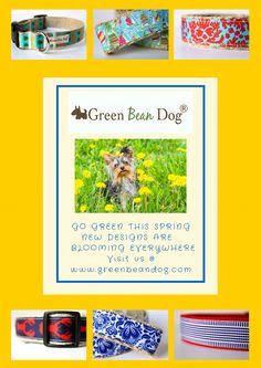 Enjoy! 🐾🐾 Green Bean, Go Green, Spring New, Dog Design, Bloom, Dogs, Fun, Handmade, Green Beans