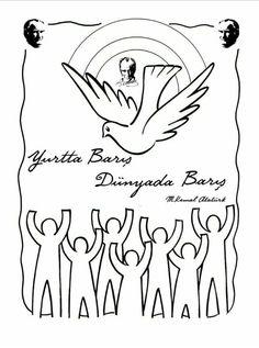 Yurtta barış dünyada barış   Atatürk sözü
