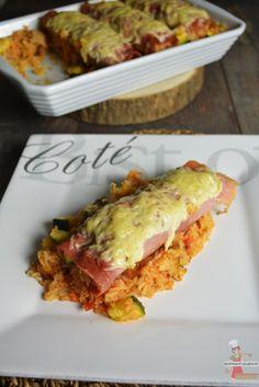 Un repas complet et équilibré qui plaira aux plus petits comme aux plus grands de la famille ! - Cannelloni de jambon farcis - Lolibox - Recettes de cuisine