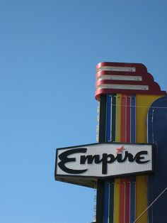 "Empire Theatre, Livingston, where?  (Flickr is not forthcoming on background info for its photos .. extremely frustrating with its stupid ""Bad Panda"" blips.)"