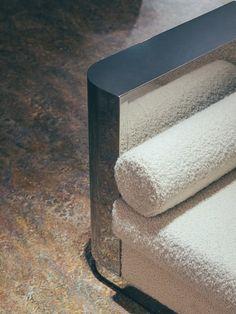 Sofa Furniture, Furniture Design, Banquette Seating, Mid-century Modern, Modern Minimalist, Architecture, Toilet Paper, Detail, Concept