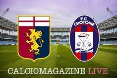 Genoa-Crotone LIVE domenica 22 gennaio dalle ore 15