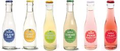 Stirrings makes some tasty cocktail mixers, but who knew they also make a line of cocktail sodas created specifically to. Cocktails, Drinks, Beverages, Cocktail Mixers, Beverage Packaging, Drink Menu, Ginger Ale, Label Design, Here Comes The Bride
