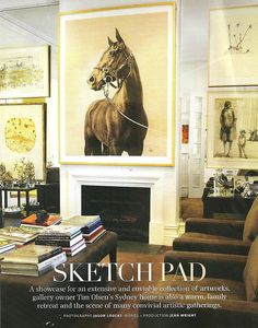 In LOVE with the horse art...