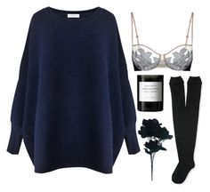 """""""Apocalypse"""" by psycho-luna ❤ liked on Polyvore featuring Byredo, La Perla, Paisie, Aéropostale and sweaterweather"""