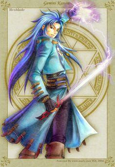 Golden Fantasy-Hexblade Kanon by uuyly on deviantART