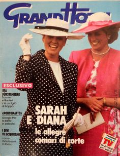 1987 Princess Diana and Sarah