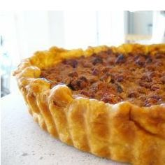 "Pecan Pumpkin Pie I | ""Won my office pumpkin pie contest with this one!"""