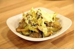 Fırında Peynirli Patatesler