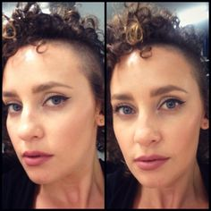 Rocking my Kylie Jenner inspired makeup look. Winged eyeliner, M.A.C soar lipliner, brave lipstick with viva glam 2 over the top.