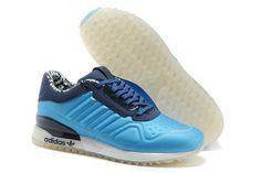 Adidas Originals T-ZX Runner Unisex Lichtblau Weiß