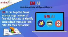 Are you a Financial service company or a Bank who deals in stock, bonds, loans and insurance policies? EM AI Platform helps you to improve customer personalization including decision-making for loans and credit. Target the right customer with our EM AI Platform.   #EMAIPlatform #artificialintelligence #automation #machinelearning #ai #ml #technology #products #aisolutions #banks #financialinstitutions #istanbul #newyork #sanfrancisco #london Financial Institutions, Data Science, Artificial Intelligence, Decision Making, Machine Learning, Ems, Banks, Istanbul, Digital Marketing