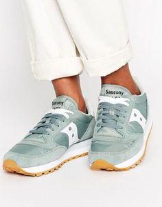Zapatillas de deporte verdes Jazz Original de Saucony 0db3db0f045