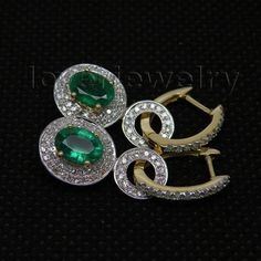 http://gemdivine.com/natural-emerald-earringssolid-14kt-yellow-gold-real-diamond-emerald-earrings-oval-5x7mm-for-sale-e0006/