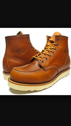 """Red Wing 6"""" Moc Toe 875"""