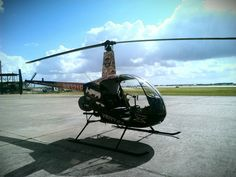 Piloting an R-22 Helicopter