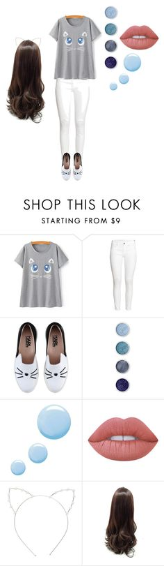 """""""Kitties!"""" by stunningnebulas on Polyvore featuring H&M, Karl Lagerfeld, Terre Mère, Topshop, Lime Crime and Cara"""