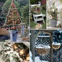 Get into the Christmas mood with these five tips for unique Christmas decorations for outdoors Christmas Mood, Merry Christmas, Christmas Ideas, Unique Christmas Decorations, Holiday Decor, Diy Weihnachten, Garden Inspiration, Winter Wonderland, Ladder Decor