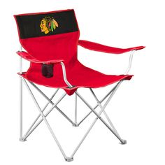 Chicago Blackhawks NHL Canvas Chair