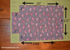 Fabric Tissue Box Cover Tutorial - DIY House to Home