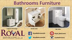 Our bathroom furniture comes in many different shapes and sizes to meet any requirements. We have a range of contemporary vanity units and furniture.