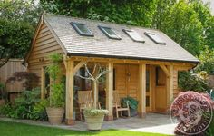 Our oak framed home offices, annexes and summer houses are designed specifically around the client's requirements.