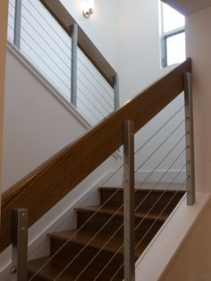 Contemporary Stair Railing Design, Pictures, Remodel, Decor and Ideas