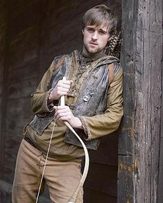 The Art of Clothes: BBC Robin Hood Character Costume Study Season 1 Part 8 - Robin Hood