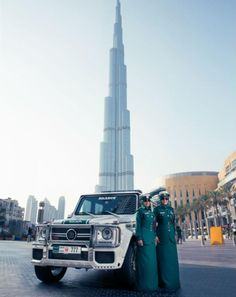 Brabus SUV For Dubai Woman Police