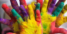 Farben | Elk thema wordt uitgewerkt door te gaan knutselen, een verhaaltje te ...