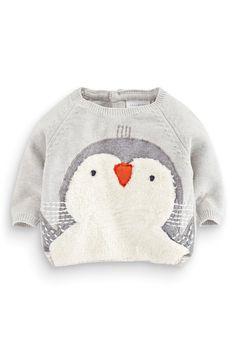 Buy Christmas Penguin Jumper (0-18mths) from the Next UK online shop