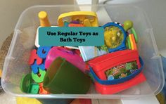 Hint Mama contributor Karen Witham shares how to save money on tub toys.