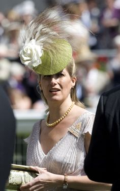 Sophie, Countess of Wessex, Royal Ascot, June 17, 2008
