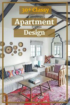 30+ Classy Winter Apartment Design & Decor with Boho Style #apartmentdesignideas Apartment Design, Bohemian Decor, Boho Style, Boho Fashion, Gallery Wall, Classy, Layout, Winter, Home Decor