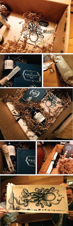 the entire Kraken package #packaging #branding #marketing PD