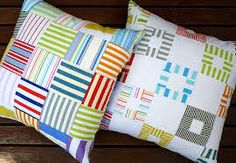 red pepper patchwork cushions - Google Search