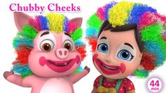 A new compilation video, including one of our most recent songs, Chubby Cheeks Dimple chin poem Chubby cheeks, dimple chin Rosy lips, teeth within Curly hair. English Rhymes, Kids English, Kids Nursery Rhymes, Rhymes For Kids, Baby Songs, Kids Songs, Nursery Rhymes Collection, Rhymes Video, Rosy Lips